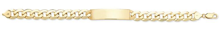 Gents 9ct Yellow Gold I.D Bracelet