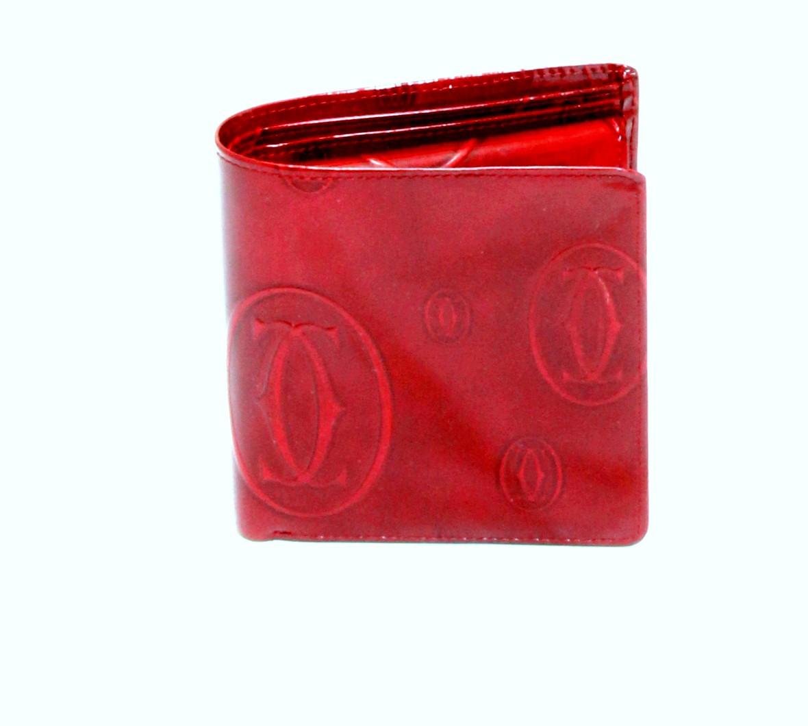 Cartier Wallet - Red