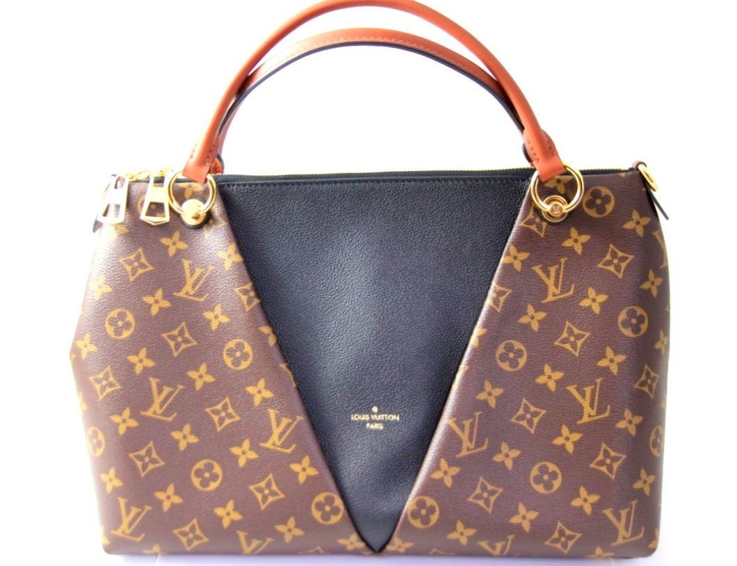 Louis Vuitton V Totte MM Monogram Handbag