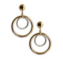 Celebrity Large Hoop Earrings As Worn By Dawn Ward From The Real Housewifes of Cheshire