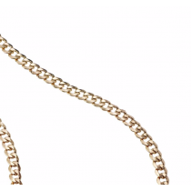 Gents Flat  Curb Necklace