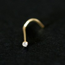 Piercing 18k Gold 0750 Point of Light