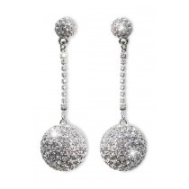 Kim Kardashian Ball and Chain Earring
