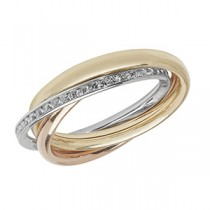 Stunning 9ct Gold Russian Wedding Ring