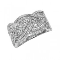 STUNNING DIAMOND WAVE BAND