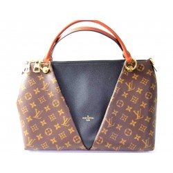 Louis Vuitton V Totte MM Monogram Handbag
