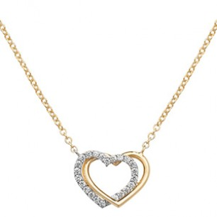 9ct Love Necklace