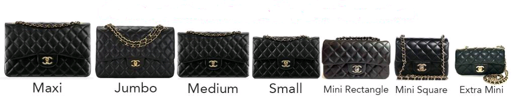 Chanel Bag Size Chart