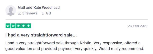More Trust Pilot reviews Buymyjewellery.com